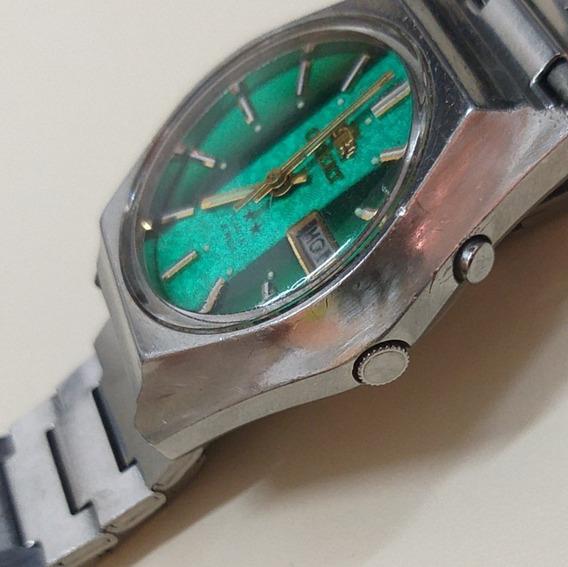 Orient Automático Anos 1990 - Verde - 12x Sem Juros !!!