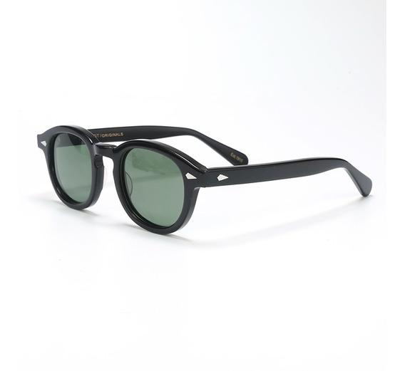 Oculos De Sol Moscot Com Lentes Verdes Polarizadas