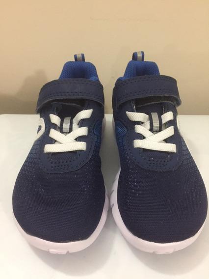Zapatos Deportivo De Niño, Azul, Marca New Feel, Talla 26