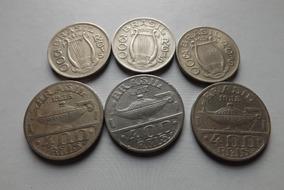 300 E 400 Reis 1936,1937 E 1938 -oswaldo Cruz E Carlos Gomes