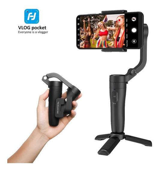 Gimbal Estabilizador Feiyutech Vlog Pocket Smartphone 14hrs