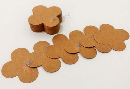 500 Forminhas Caixetas Doces Finos Rústica Kraft 3cm