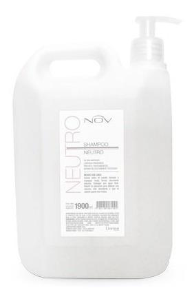 Shampoo Nov Neutro Con Bomba Dosificadora X 1900ml