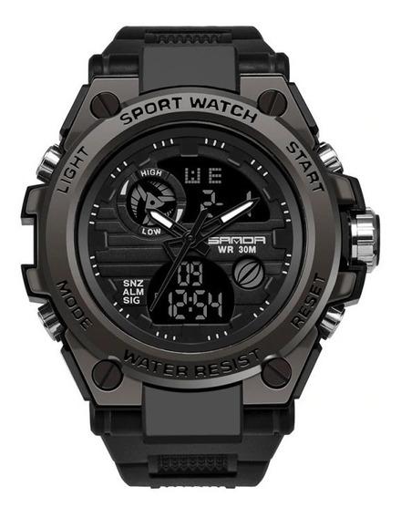 Relógio Sport Watch Resist New Sanda 739 + Frete Grátis