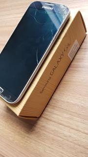 Galaxy S4 Gt-i9505 - Funcionando - Camera Frontal Quebrada