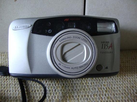 Câmera Fotográfica Analógica Sansung 115 A Panorama .