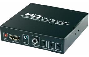 Scart Hdmi Para Hdmi Conversor Vídeo Full Hd 1080p Scaler
