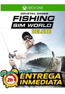 Fishing Sim World Deluxe Edition Xbox One Offline