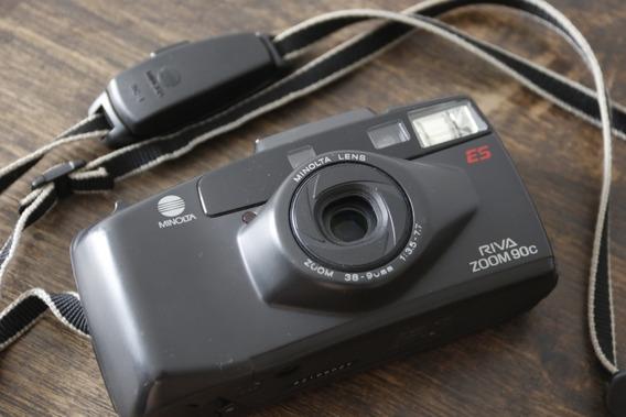 Câmera Minolta Riva Zoom 90ex - Analógica