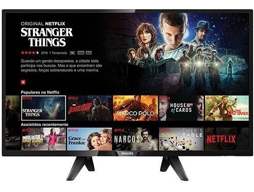 Tv Philips 43 Mod.43pfg5102/78 Com A Tela Quebrada