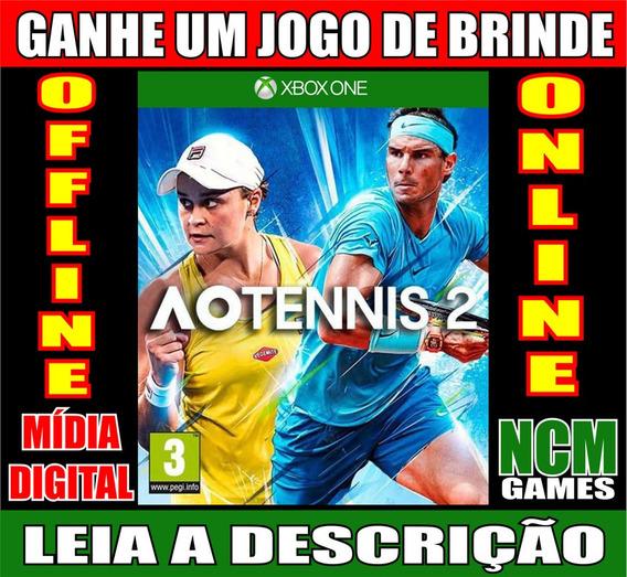 Ao Tennis 2 Xbox One + Brinde