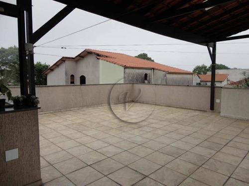 Cobertura Com 3 Dormitórios À Venda, 160 M² Por R$ 530.000 - Vila Marina - Santo André/sp - Co0620