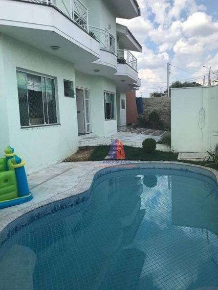 Casa Residencial À Venda, Residencial Boa Vista, Americana. - Ca0683