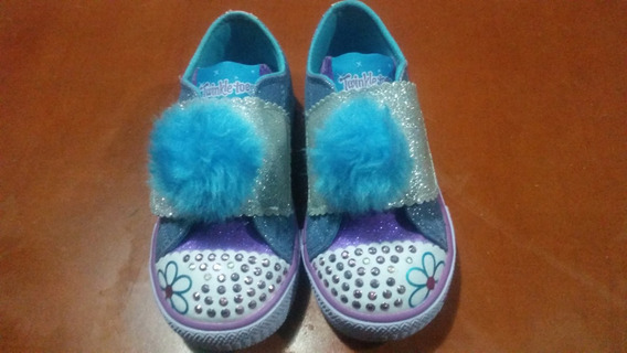 Zapatos Skechers Infantil Niña Twinkle Toes Con Luces