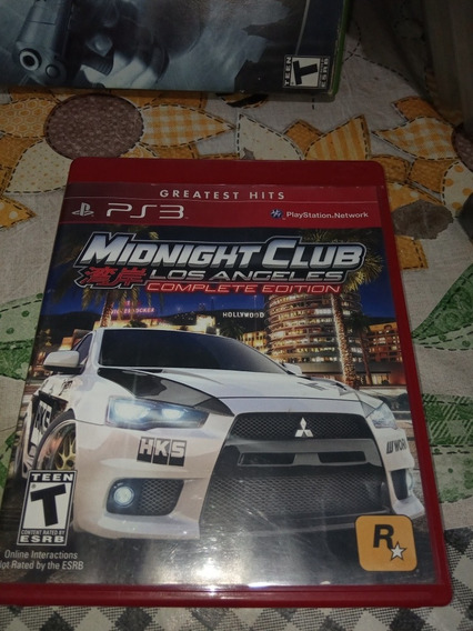 Midnight Club Los Angeles Complete Edition Ps3