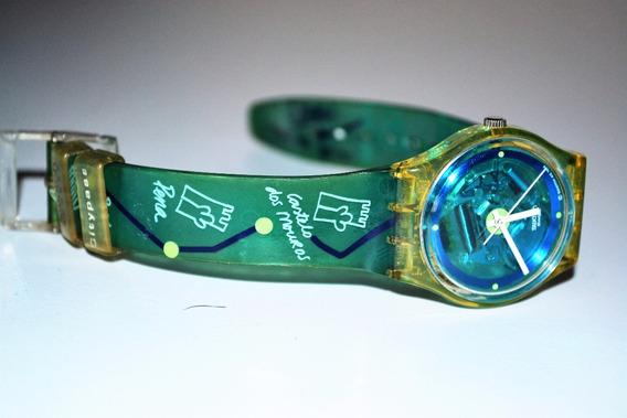 Relógio Swatch Colecção City Pass Monte Da Lua Skk113 1999