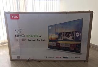 Televisor Smartv Tcl Android 55 4k Hdr+ Google Play Juegos