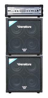 Amplificador De Bajo Wenstone Cabezal Be3000h + 2 Cajas B410