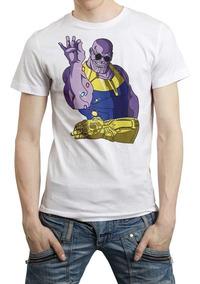 Marvel Comic Avengers End Game Thanos 0 Playera Envio Gratis
