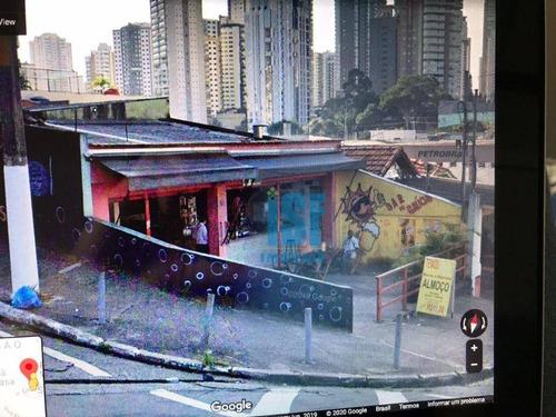 Imagem 1 de 5 de Terreno À Venda, 590 M² Por R$ 3.175.000 - Vila Regente Feijó - São Paulo/sp - Te0741
