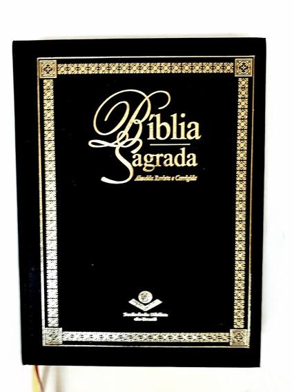 Bíblia Sagrada L.jumbo Capa Dura Sem Ziper Almeida (sbb)
