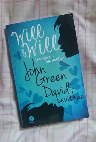 Livro Will E Will De John Green E David Levithan (usado)