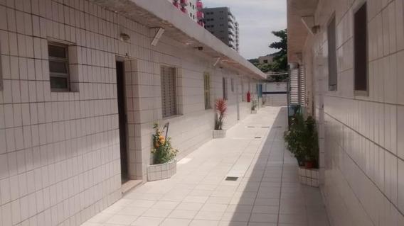Kitnet Em Canto Do Forte, Praia Grande/sp De 23m² À Venda Por R$ 96.000,00 - Kn145497