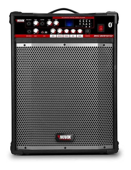 Caixa Novik Multiuso Big Band 12bt 120w Rms - Promoção