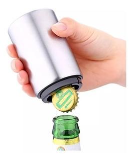 Destapador De Botellas Automático Magnético Acero Inoxidable