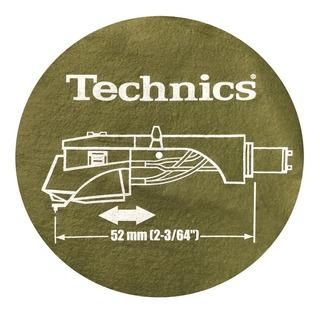 Technics Slipmat Paño P/ Bandeja De Vinilo X2u Discos Dj