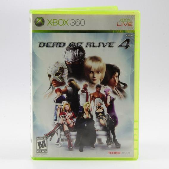 Dead Or Alive 4 - Xbox 360 - Mídia Física - Jogo Original!