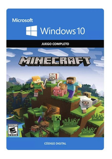 Minecraft Windows 10 Codigo Original Juego Completo *