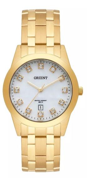 Relógio Orient Feminino Dourado -fgss1150 B1kx