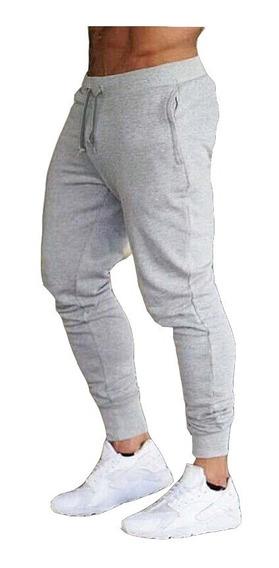 Kit 5 Calça Moletom Masculina Nova Street Jogger Com Punho