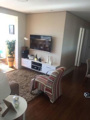 Excelente Apartamento 81m2 - 3 Dormitórios - 1 Suítes - 2 Vagas Livres - Rico Em Armários - Lazer - Mi72510