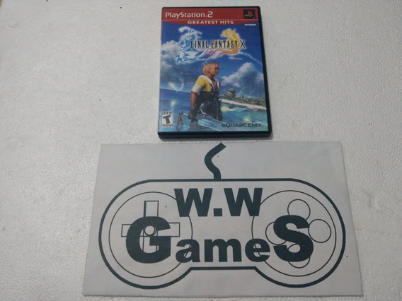 Playstation 2 - Ps2 Final Fantasy X Original Mídia Física