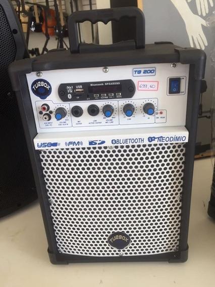 Caixa De Som Multiuso Turbox Tb-200 (b)