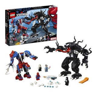 Lego Set De Construcción Marvel Spider-man Mech Fight