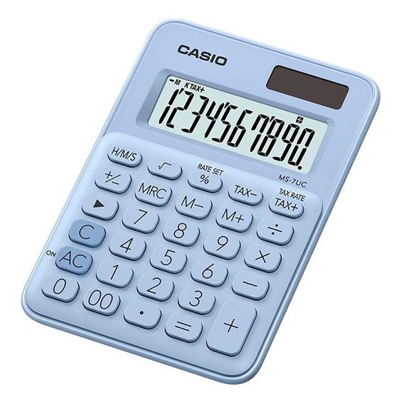 Calculadora Casio Ms-7uc Linea Mi Estilo Varios Colores