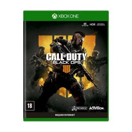 Call Of Duty Black Ops 4 Xbox One Mídia Física