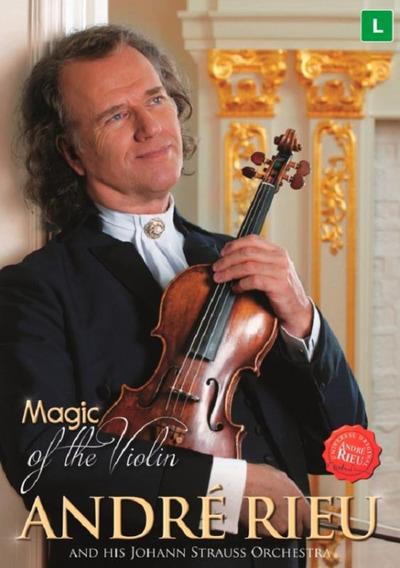André Rieu Magic Of The Violin - Dvd Música Clássica