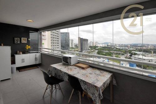 Imagem 1 de 23 de Apartamento Com 1 Dormitório À Venda, 45 M² Por R$ 480.000,00 - Barra Funda - São Paulo/sp - Ap23684