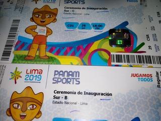 Entradas Inauguración Panamericanos - Sector B Y C