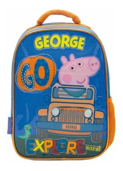 Mochila Peppa Pig George 12 Espalda Jardín Licencia