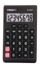 Calculadora De Bolso Truly 283 - 8 Dígitos