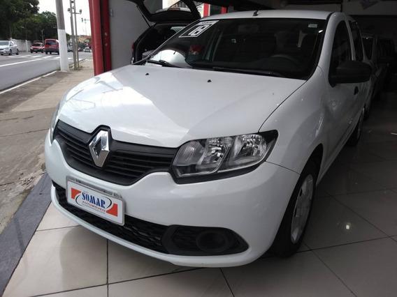 Renault Sandero 1.0 12v Flex Authentique Sem Entrada Uber