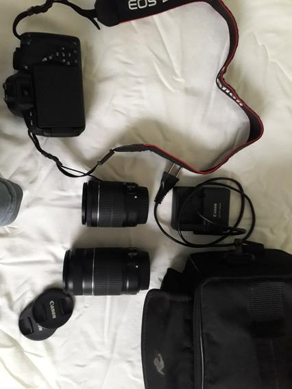 Canon T5i, Duas Lentes.