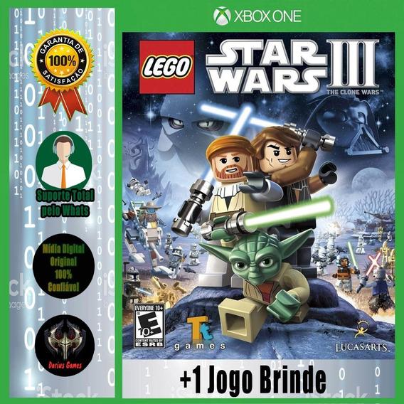 Lego Star Wars 3 Xbox One Midia Digital +1 Jogo Brinde