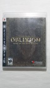The Elder Scrolls 4 Oblivion Ps3 Completo Americano