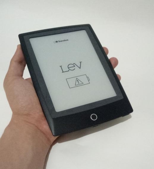 Leitor Digital De Livro Lev Com Luz Usado Frete Grátis